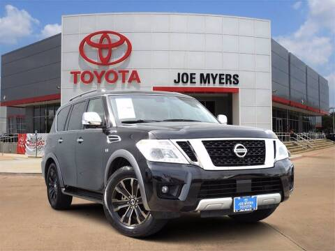 2017 Nissan Armada for sale at Joe Myers Toyota PreOwned in Houston TX