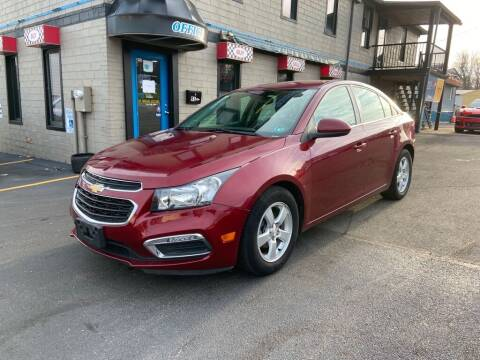 2016 Chevrolet Cruze Limited for sale at Sisson Pre-Owned in Uniontown PA