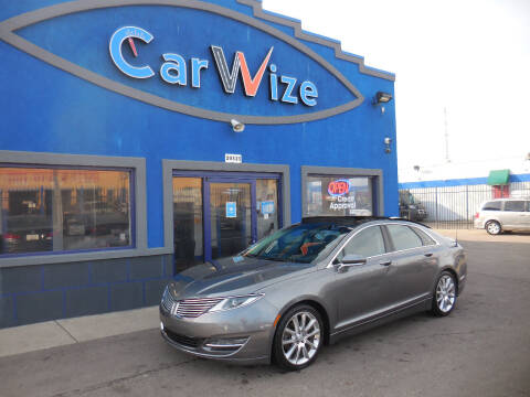 2014 Lincoln MKZ for sale at Carwize in Detroit MI