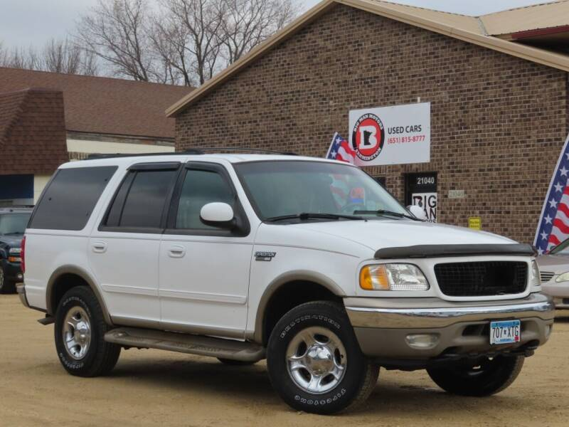2000 Ford Expedition for sale at Big Man Motors in Farmington MN
