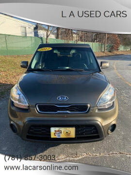 2012 Kia Soul for sale at L A Used Cars in Abington MA
