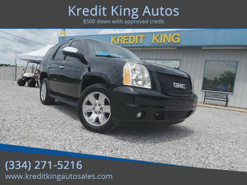 2008 GMC Yukon for sale at Kredit King Autos in Montgomery AL