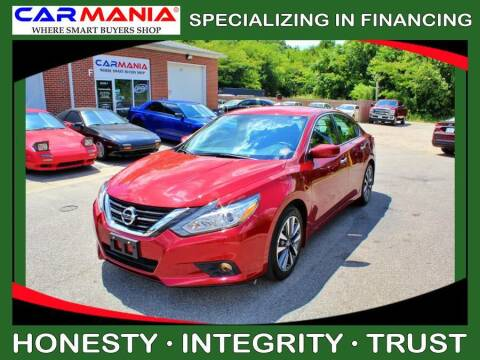 2017 Nissan Altima for sale at CARMANIA LLC in Chesapeake VA