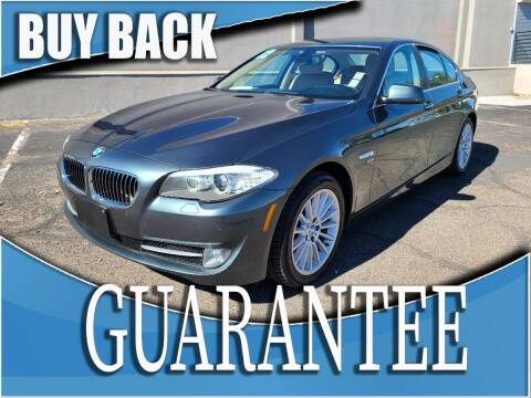 2012 BMW 5 Series for sale at Reliable Auto Sales in Las Vegas NV
