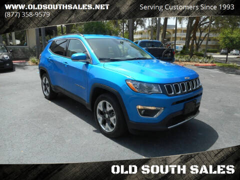 2019 Jeep Compass for sale at OLD SOUTH SALES in Vero Beach FL