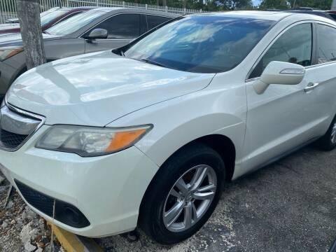 2013 Acura RDX for sale at America Auto Wholesale Inc in Miami FL