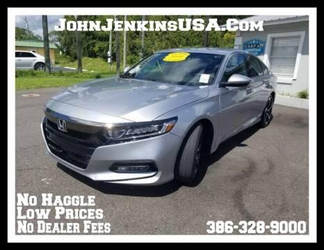 2018 Honda Accord for sale at JOHN JENKINS INC in Palatka FL