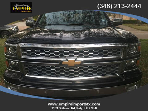2014 Chevrolet Silverado 1500 for sale at EMPIREIMPORTSTX.COM in Katy TX
