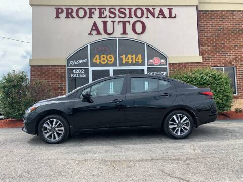 2020 Nissan Versa for sale at Professional Auto Sales & Service in Fort Wayne IN
