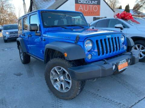 2016 Jeep Wrangler Unlimited for sale at Discount Auto Brokers Inc. in Lehi UT
