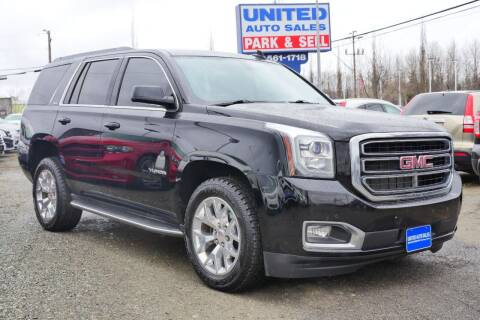 2016 GMC Yukon for sale at United Auto Sales in Anchorage AK