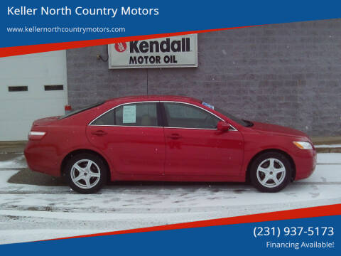 2009 Toyota Camry for sale at Keller North Country Motors in Howard City MI