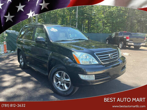 2008 Lexus GX 470 for sale at Best Auto Mart in Weymouth MA