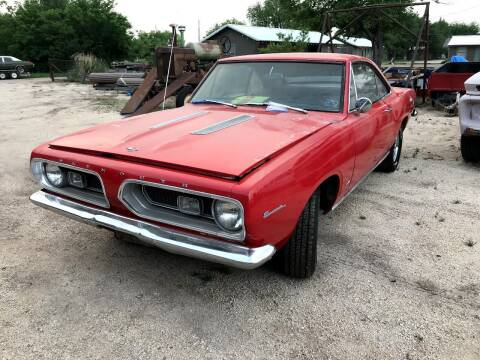 1967 Plymouth Business Coupe for sale at CLASSIC MOTOR SPORTS in Winters TX