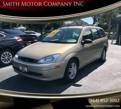 2000 Ford Focus for sale at Smith Motor Company INC in Mc Cormick SC