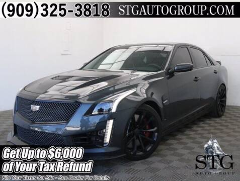 2017 Cadillac CTS-V for sale at STG Auto Group in Montclair CA