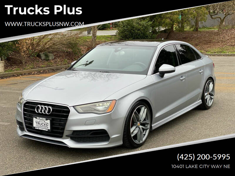 2015 Audi A3 for sale at Trucks Plus in Seattle WA