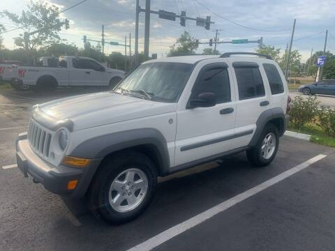 2006 Jeep Liberty for sale at Bay City Autosales in Tampa FL