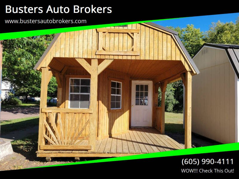 2017 Old Hickory Building 12 X 32 Lofted Playhouse for sale at Busters Auto Brokers in Mitchell SD