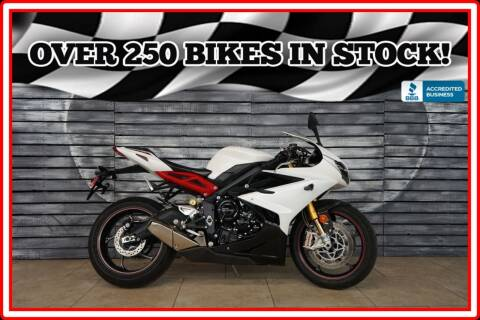 2014 Triumph Daytona 675 R (ABS) for sale at AZautorv.com in Mesa AZ