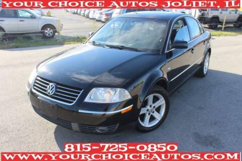 2004 Volkswagen Passat for sale at Your Choice Autos - Joliet in Joliet IL