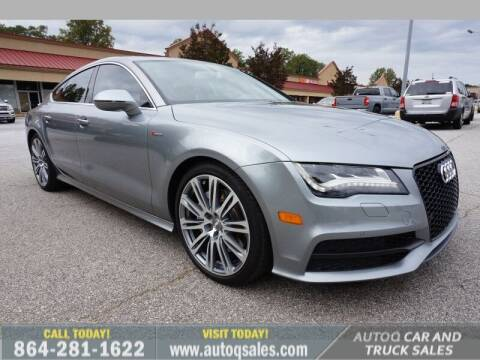 2013 Audi A7 for sale at Auto Q Car and Truck Sales in Mauldin SC