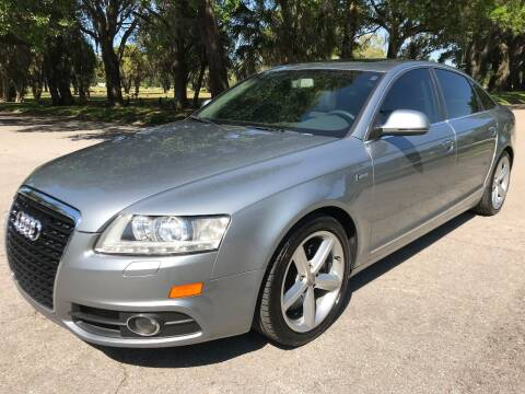 2011 Audi A6 for sale at ROADHOUSE AUTO SALES INC. in Tampa FL