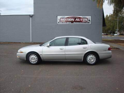 2000 Buick LeSabre for sale at Motion Autos in Longview WA