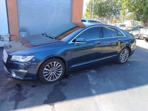 2017 Lincoln MKZ for sale at LAND & SEA BROKERS INC in Deerfield FL