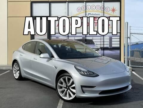 2018 Tesla Model 3 for sale at Las Vegas Auto Sports in Las Vegas NV