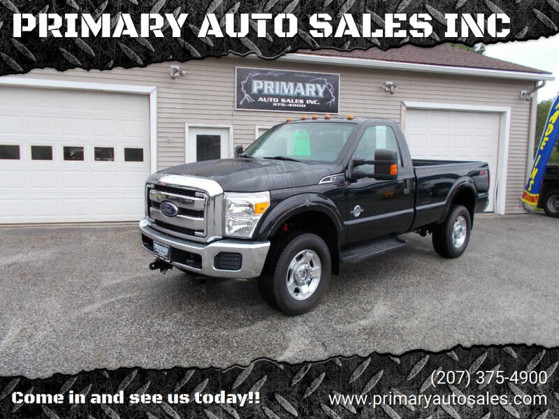 2015 Ford F-350 Super Duty for sale at PRIMARY AUTO SALES INC in Sabattus ME