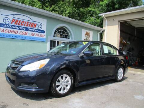 2012 Subaru Legacy for sale at Precision Automotive Group in Youngstown OH
