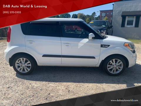2013 Kia Soul for sale at DAB Auto World & Leasing in Wake Forest NC
