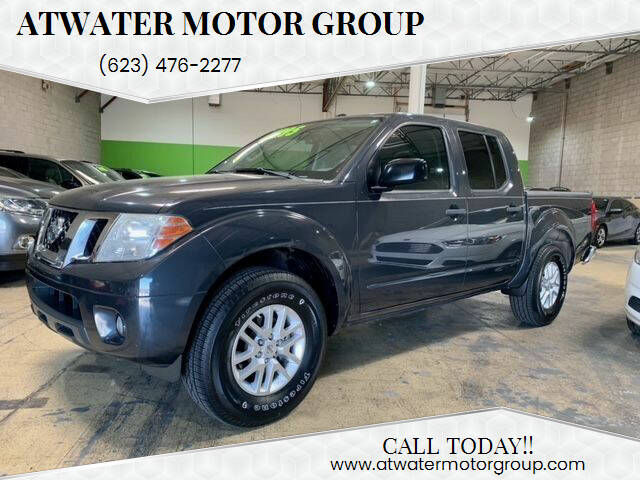 2015 Nissan Frontier for sale at Atwater Motor Group in Phoenix AZ