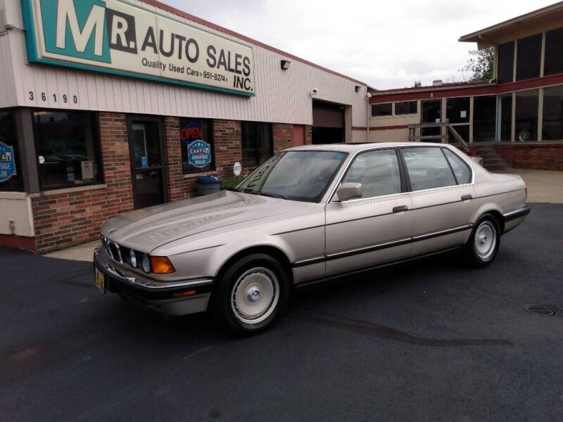 1989 BMW 7 Series for sale at MR Auto Sales Inc. in Eastlake OH
