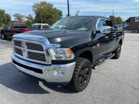2012 RAM Ram Pickup 2500 for sale at Brewster Used Cars in Anderson SC