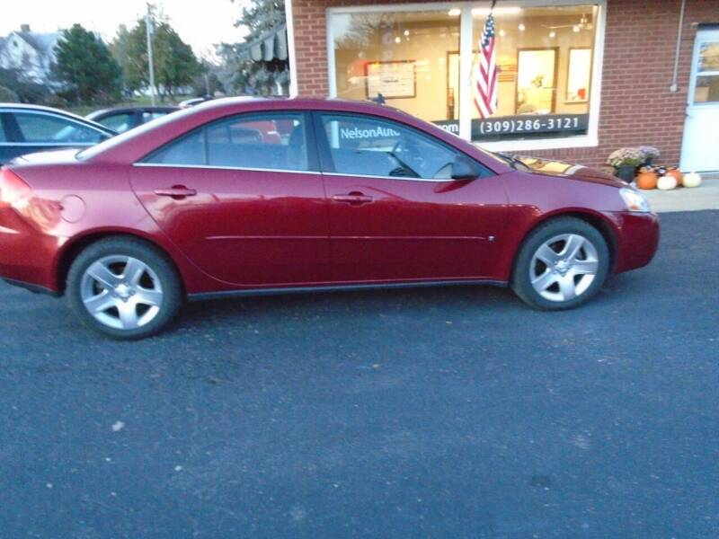 2009 Pontiac G6 for sale at Nelson Auto Sales in Toulon IL