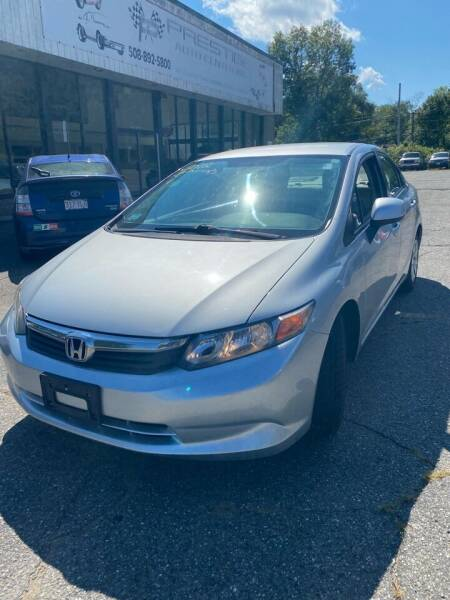 2012 Honda Civic for sale at Jack Bahnan in Leicester MA