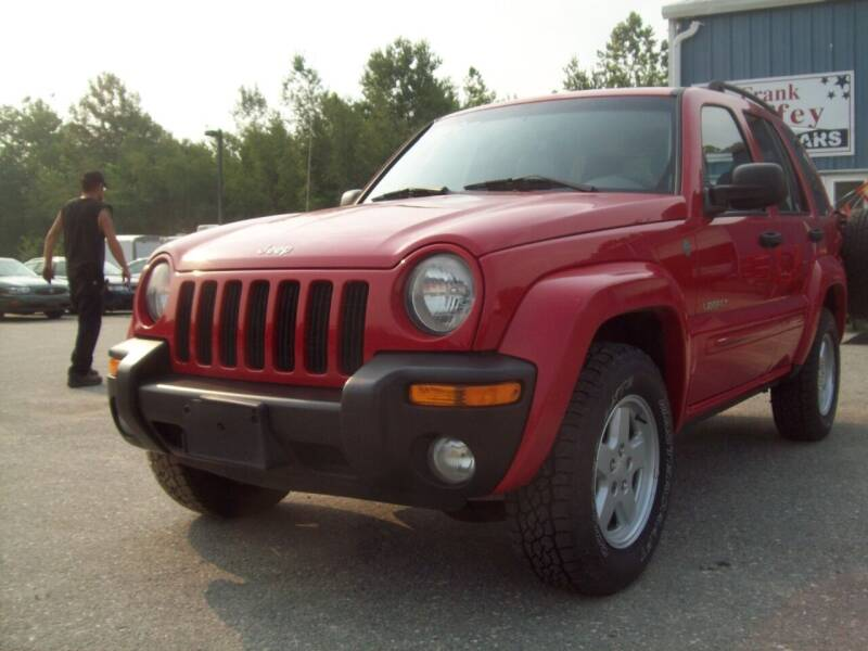 2004 Jeep Liberty for sale at Frank Coffey in Milford NH