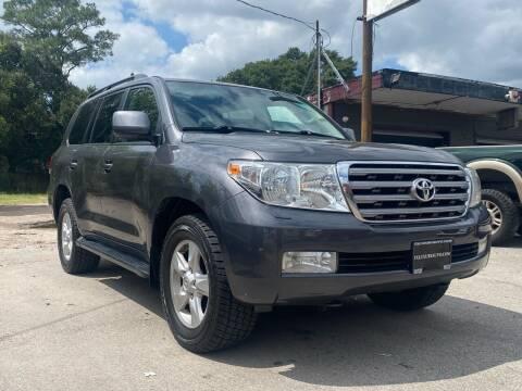 2010 Toyota Land Cruiser for sale at Texas Luxury Auto in Houston TX