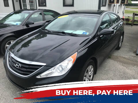 2011 Hyundai Sonata for sale at RACEN AUTO SALES LLC in Buckhannon WV