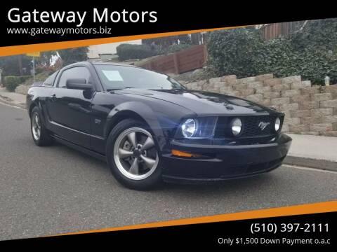 2006 Ford Mustang for sale at Gateway Motors in Hayward CA