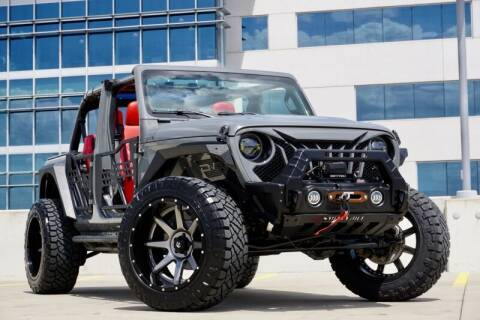 2018 Jeep Wrangler Unlimited for sale at JD MOTORS in Austin TX