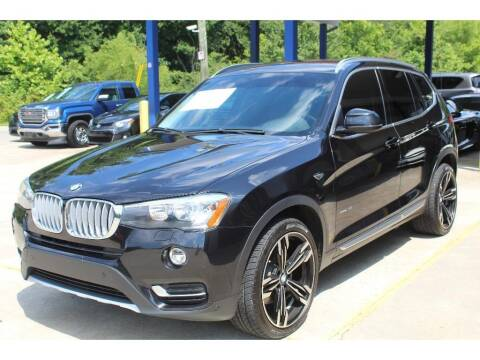 2017 BMW X3 for sale at Inline Auto Sales in Fuquay Varina NC