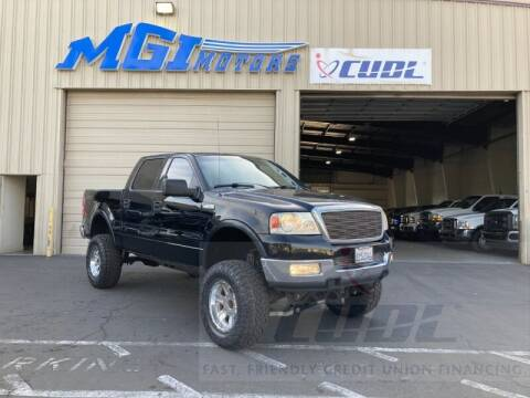 2004 Ford F-150 for sale at MGI Motors in Sacramento CA