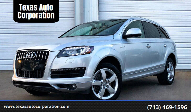 2015 Audi Q7 for sale at Texas Auto Corporation in Houston TX