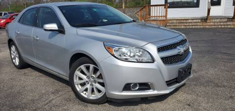 2013 Chevrolet Malibu for sale at Sinclair Auto Inc. in Pendleton IN