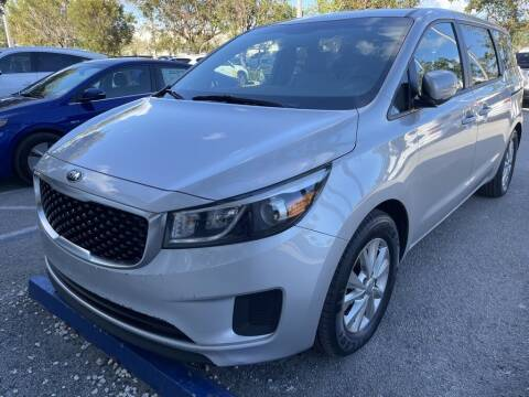 2018 Kia Sedona for sale at DORAL HYUNDAI in Doral FL