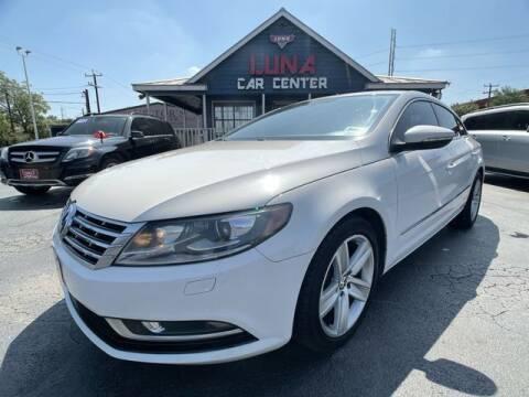 2013 Volkswagen CC for sale at LUNA CAR CENTER in San Antonio TX