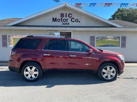 2017 GMC Acadia Limited for sale at Bic Motors in Jackson MO
